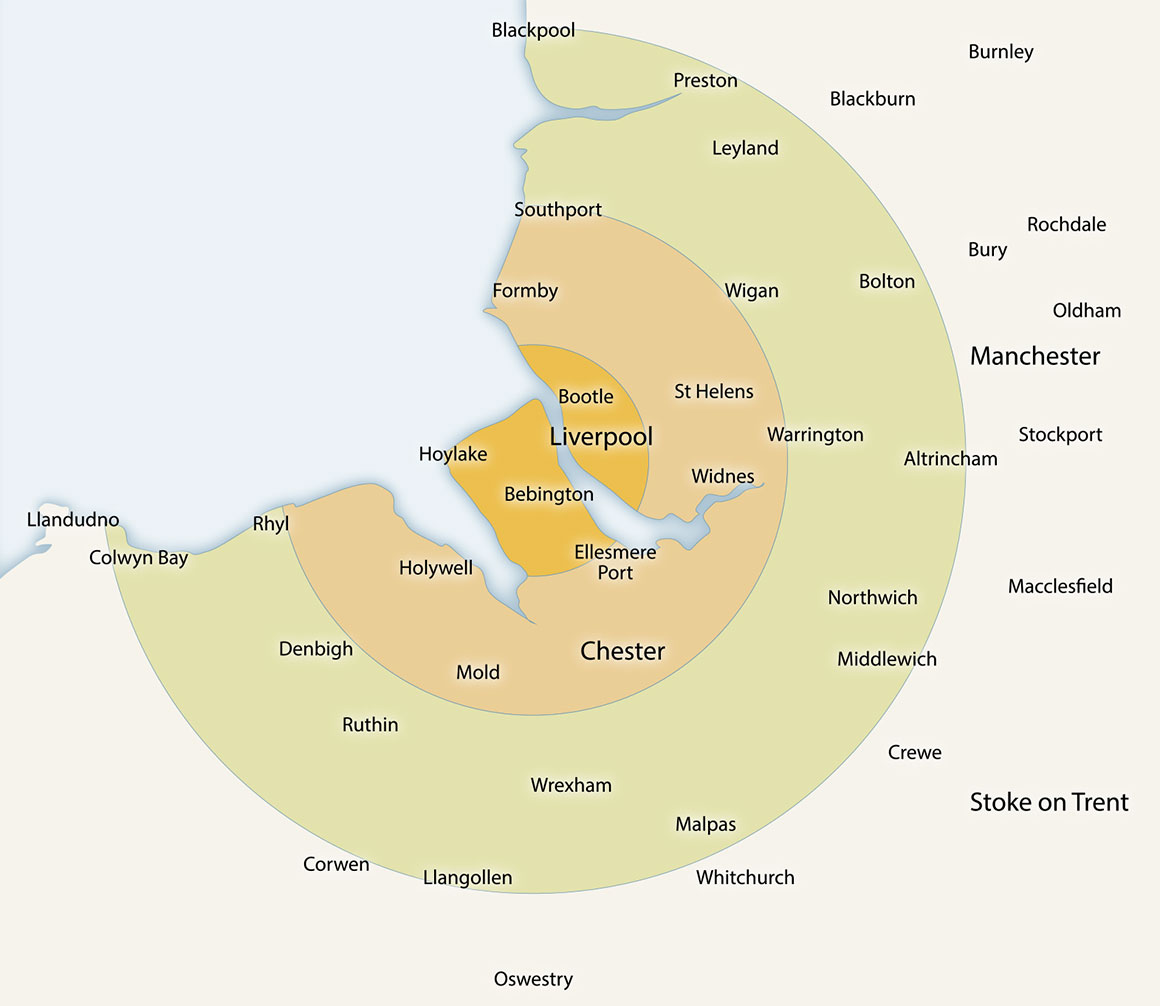 Quickhire Delivery Map